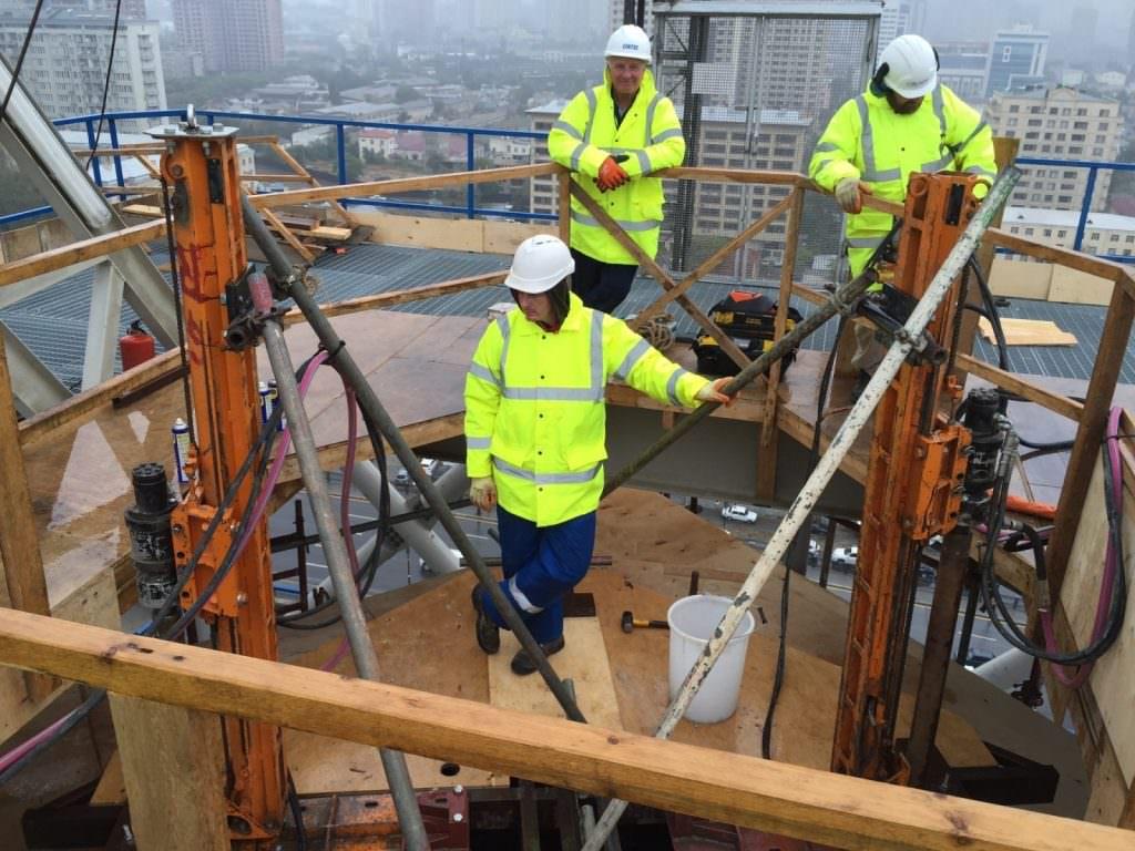 Rig Drilling Qst Construction Services Ltd