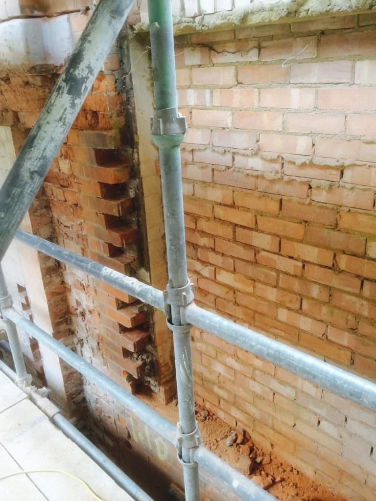 Brick Toothing Out Qst Construction Services Ltd